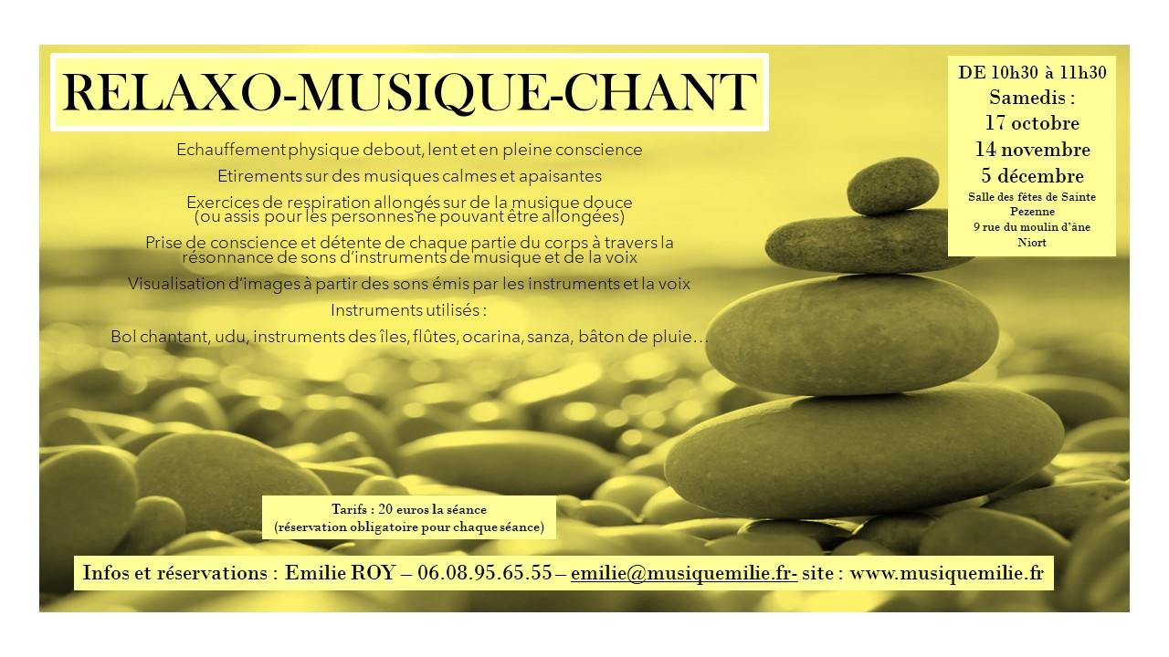 Relaxo musico chant